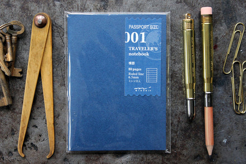 Traveler's Company Passport Notebook Refill - 001 Lined