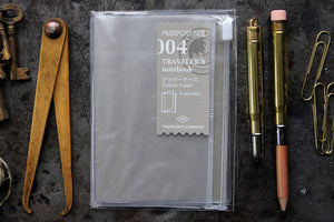 Traveler's Company Passport Notebook Refill - 004 Zipper Case