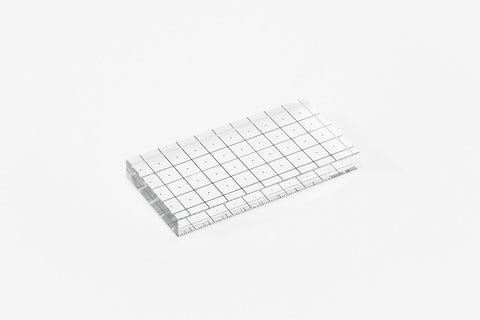 Areaware Glass Ruler