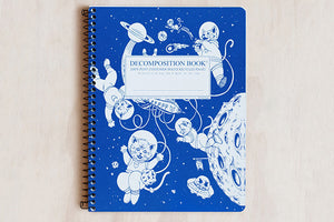 Decomposition Book Large - Kittens in Space