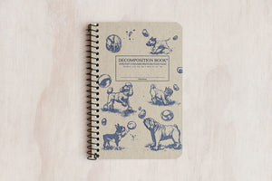 Decomposition Book Pocket - Dogs and Bubbles