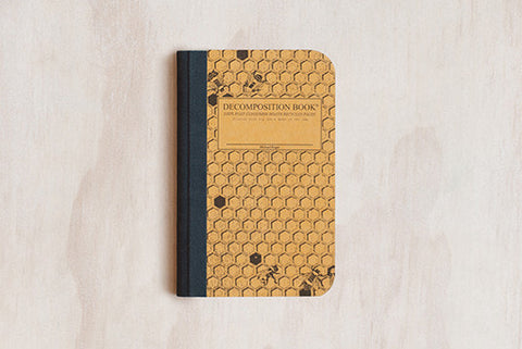 Decomposition Book Pocket - Honeycomb
