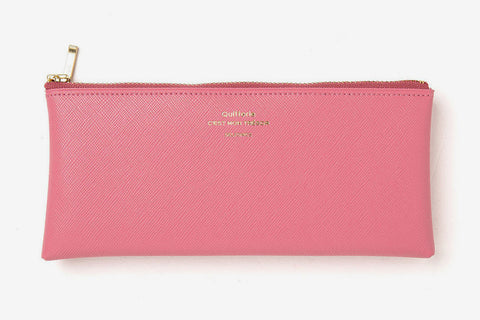 Delfonics Quitterie Flat Pencil Case - Pink