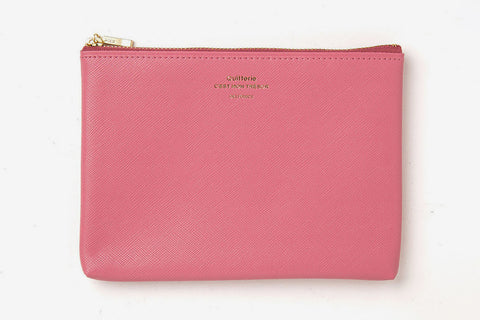 Delfonics Quitterie Medium Pouch  - Pink