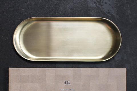 Diarge Brass Pen Tray