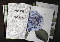 Father Rabbit Notebook - Hydrangea
