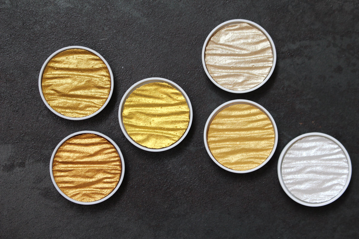 Coliro Pearl Colour Set - Gold & Silver