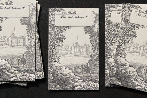 Letterpress Bookplates - Castle