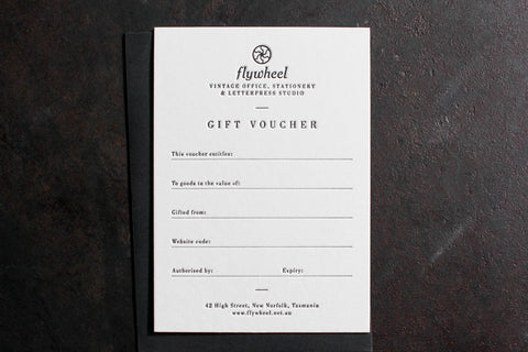 Physical Gift Voucher