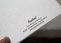 Letterpress Notecard Box Set - Flora