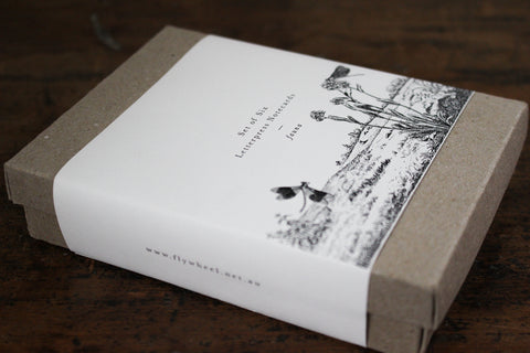 Letterpress Notecard Box Set - Fauna