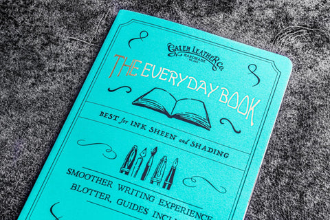 Galen Leather The Everyday Book - B6