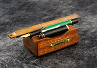 Galen Leather The Pen Rest Wooden Pen and Brush Stand