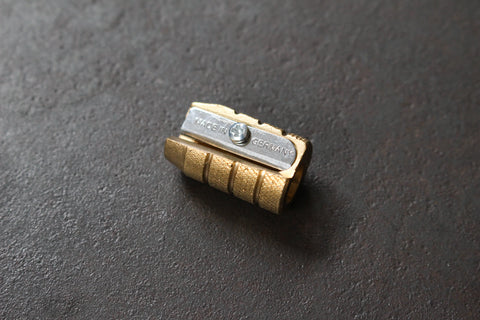 M+R Grenade Brass Pencil Sharpener