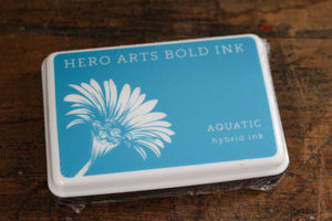 Hero Arts Bold Ink Pad - Aquatic