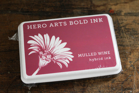 Hero Arts Bold Ink Pad - Mulled Wine