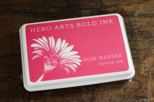 Hero Arts Bold Ink Pad - Rose Madder