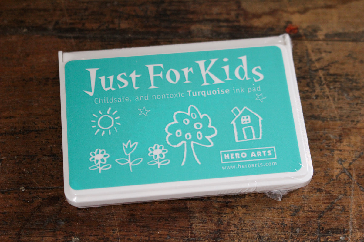 Hero Arts Just For Kids Ink Pad - Turquoise