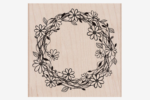 Hero Arts Stamp - Flower Wreath