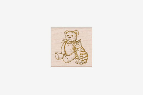 Hero Arts Stamp - From the Vault Bear & Kitty