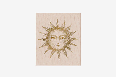 Hero Arts Stamp - From the Vault Etched Serene Sun
