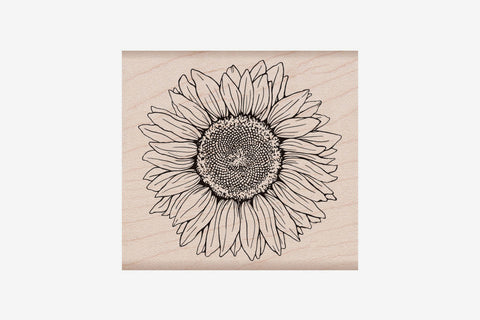 Hero Arts Stamp - Sunflower