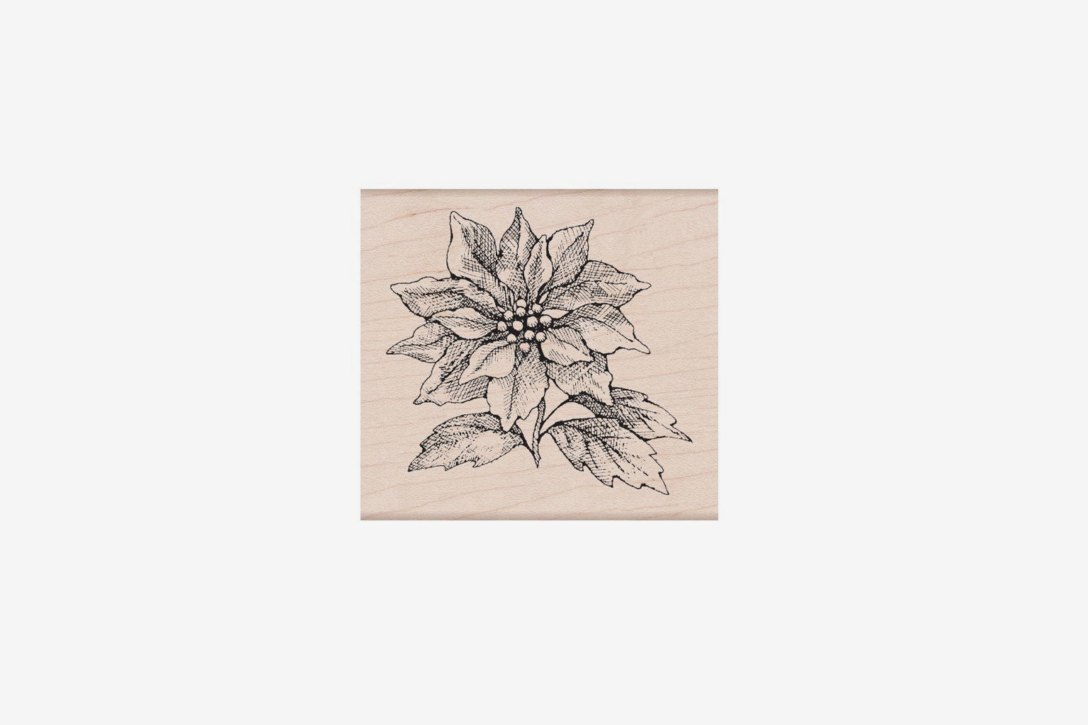 Hero Arts Christmas Stamp - From The Vault Poinsettia