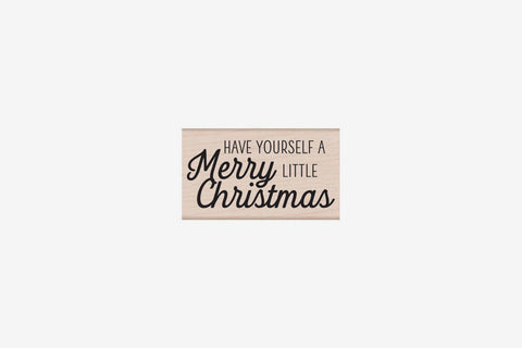 Hero Arts Christmas Stamp - Merry Little Christmas