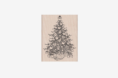 Hero Arts Christmas Stamp - From The Vault Christmas Tree
