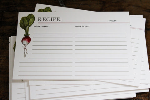 Hester & Cook Recipe Cards - Farmer's Market
