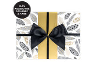 Inky Co Wrap - Feathers Gold