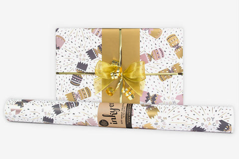 Inky Co Wrap - Crackers White