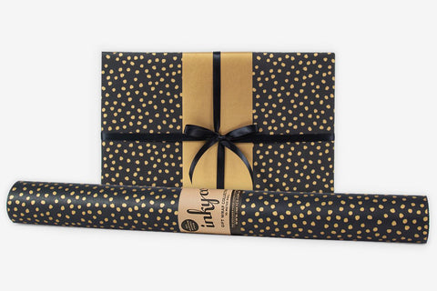 Inky Co Wrap - Pebbles Gold Black