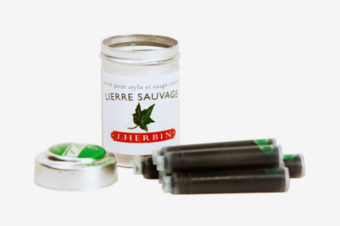 J. Herbin Universal Ink Cartridges - Lierre Sauvage