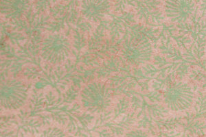 Lokta Gift Wrap - Ramage Pink/Green