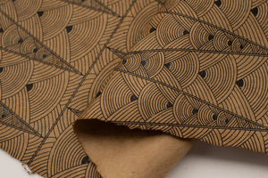 Lokta Gift Wrap - Deco Brown/Tan