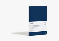 Karst Stone Paper Hardcover Notebook - Navy