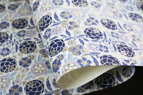 Rossi Gift Wrap - Liberty Blue