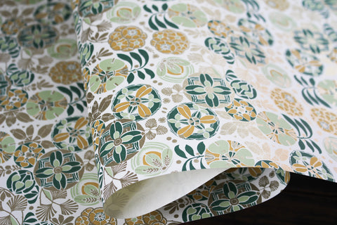Rossi Gift Wrap - Liberty Green