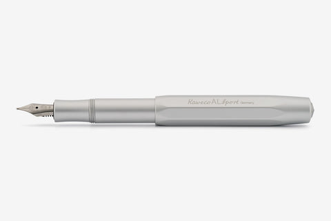 Kaweco AL Sport Fountain Pen - Silver