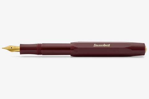 Kaweco Classic Sport Fountain Pen - Bordeaux