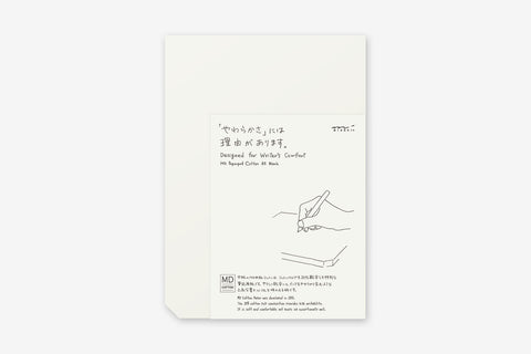 MD A5 Paper Pad - Cotton Blank