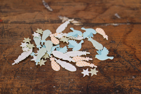 Midori Decoration Stickers - Feather