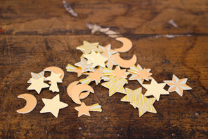 Midori Decoration Stickers - Stars & Moon