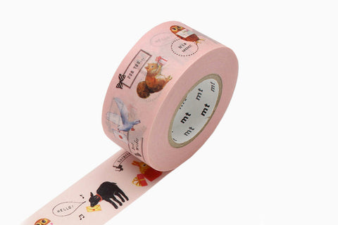 MT Masking Tape - Animals