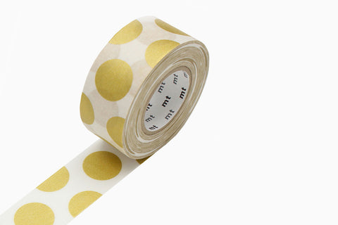 MT Masking Tape - Dot Gold