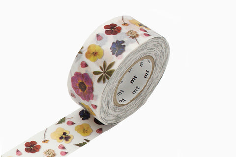 MT Masking Tape - Pressed Flower