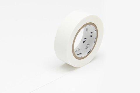 MT Masking Tape - Matte White
