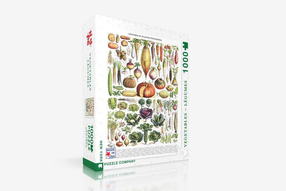 New York Puzzle Company 1000 Pc Puzzle - Vegetables