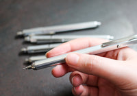 OHTO Horizon Needle Point Ballpoint Pen - Silver